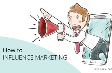 influence marketing dyaksov