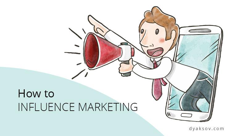 influence marketing dyaksov